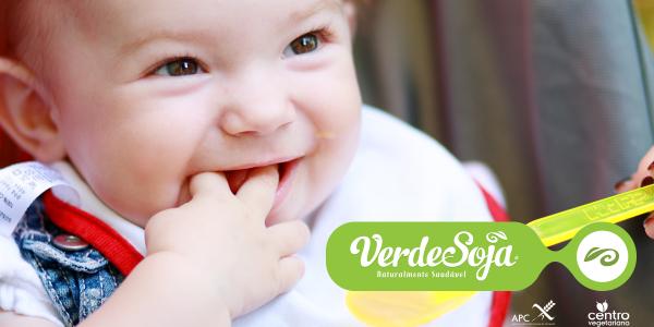 Como cuidar do bebé vegetariano: alimentação e higiene