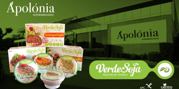 Verde Soja disponível nos Supermercados Apolónia!