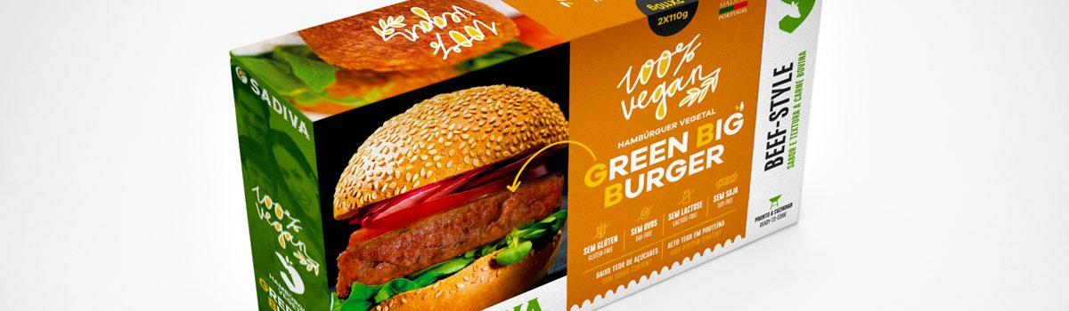 Green Big Burger BEEF-STYLE
